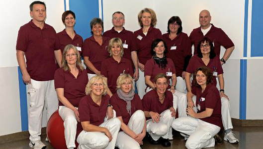Das Team der Physiotherapie in Recklinghausen