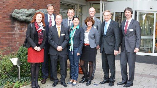 Landesgesundheitsministerin Steffens trifft Knappschaft im Klinikum Vest