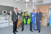 Neues Deckenliftsystem erleichtert Pflegepersonal die tägliche Arbeit