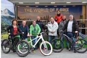 Mitarbeiter des Klinikum Vest steigen auf umweltfreundliche E-Bikes um